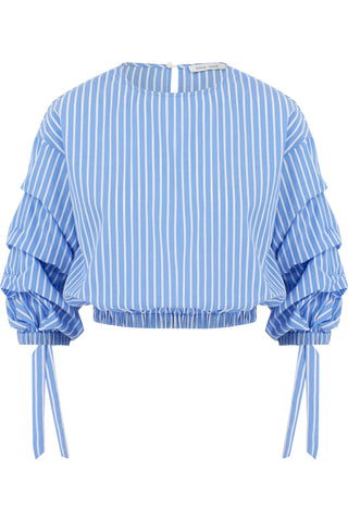 Ruched Sleeve Top