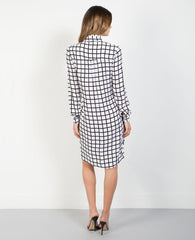 Black + White Windowpane