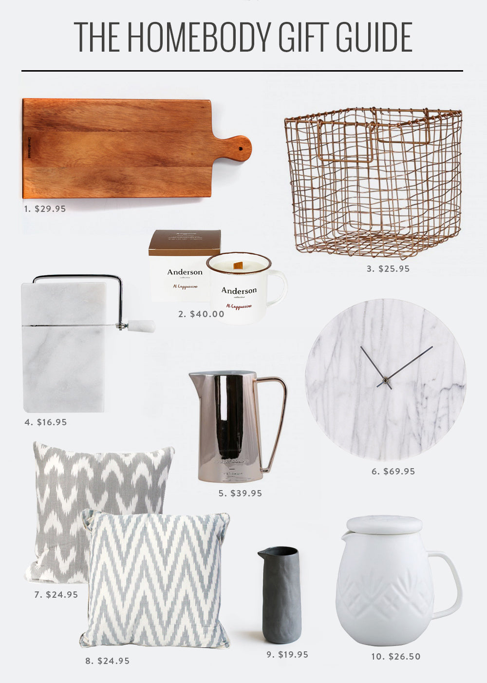 F&F Gift Guide: The Homebody