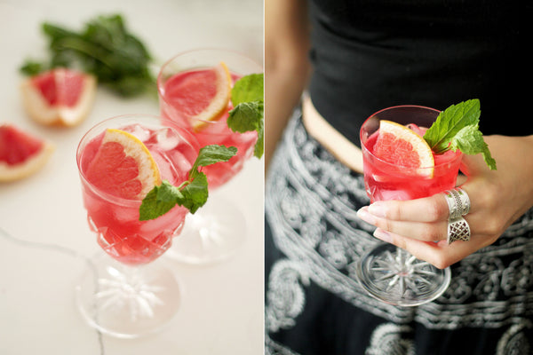 Forage & Find Co. Blog: Hibiscus Cocktail