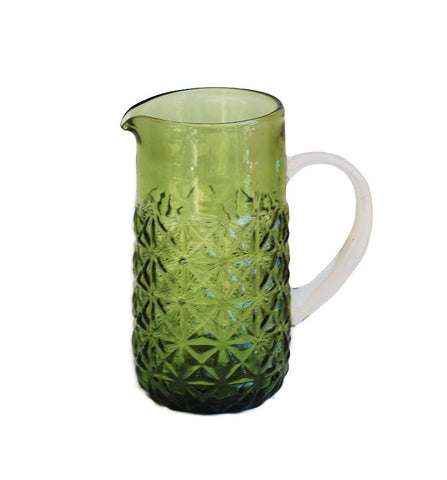 That 70s Jug Jade Glass