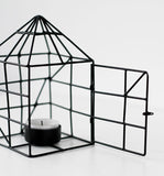 Tiny Wire House Candle Holder