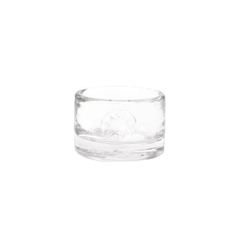 Low Small Glass Vessel