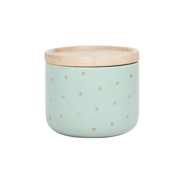 Gold Spot & Mint Canister Small