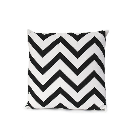 Chevron Monochromatic Cushion