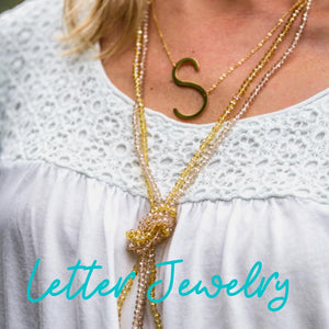 Letter Necklaces