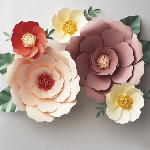 Spring Time Paper Flower DIY Kit