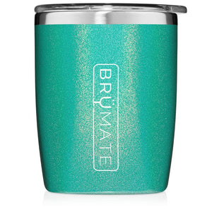 Brumate Rocks Tumbler in Glitter Peacock