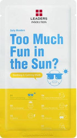 Leaders Cosmetics USA - Daily Wonders Too Much Fun in the Sun Mask