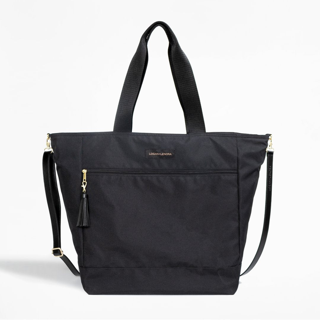 Logan and Lenora Travel Weekender Tote in Black