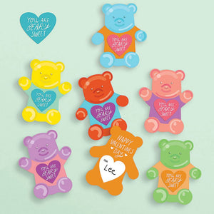 Gummy Bear DIY Valentine's Craft Kit