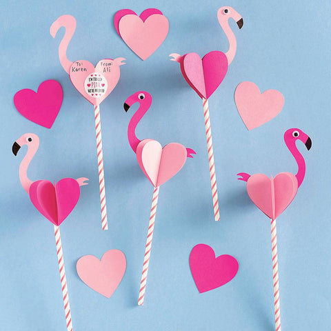 Flamingo DIY Valentine's Craft Kit