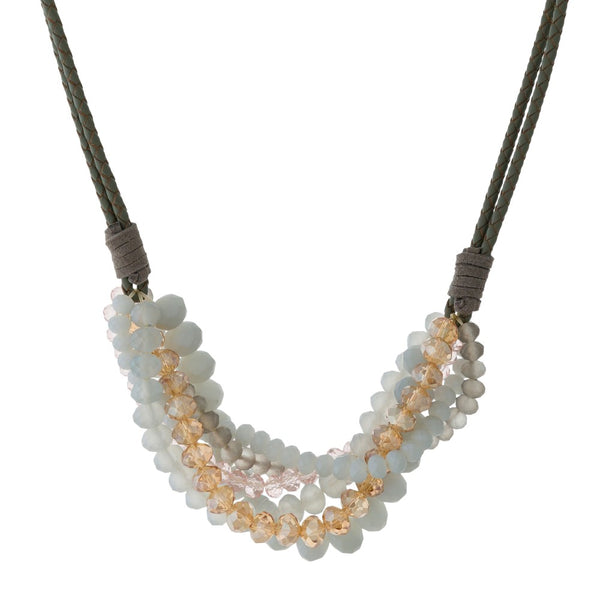 Carrie Necklace: Available in 5 Colors