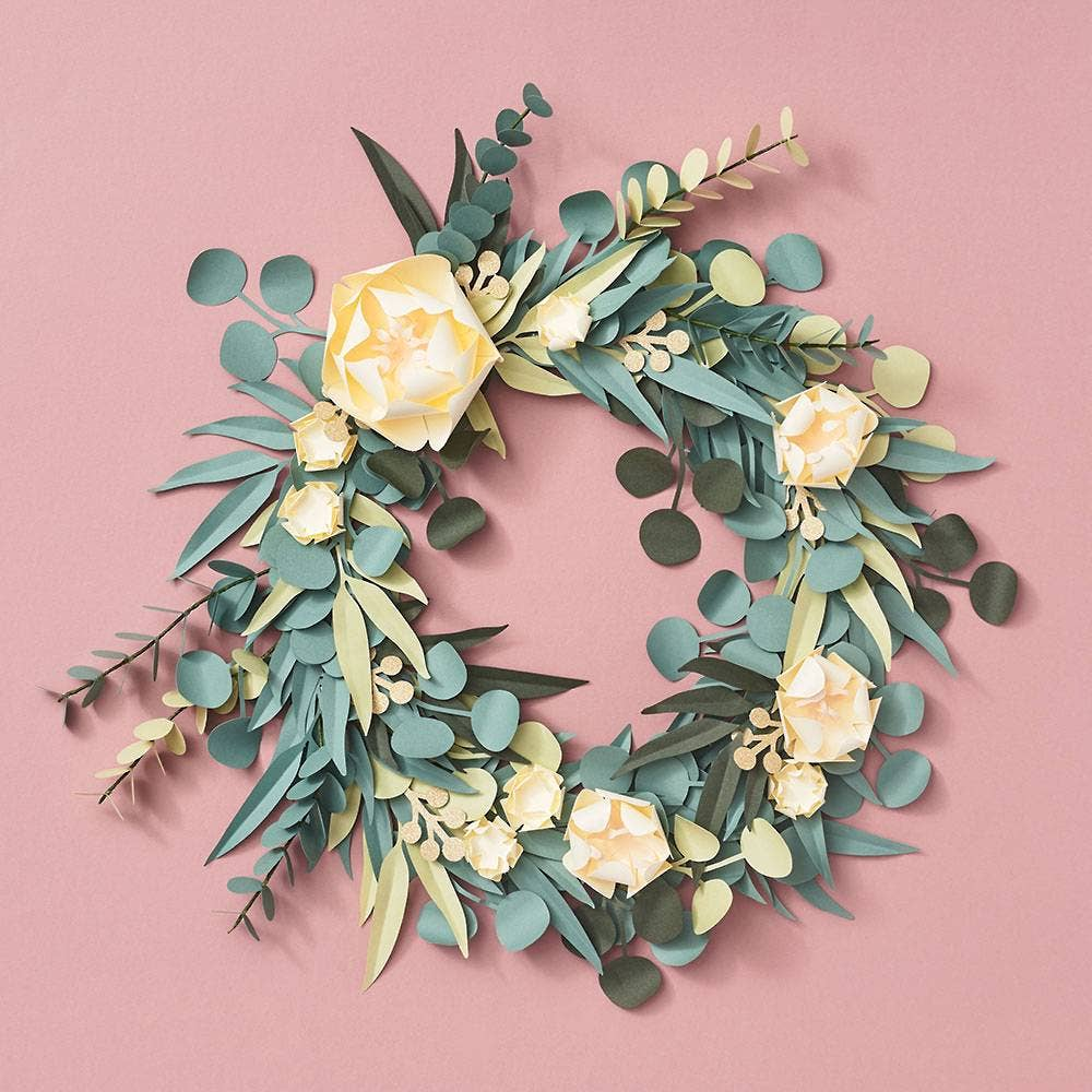 Paper Source Wholesale - Eucalyptus Greenery Wreath DIY Craft Kit