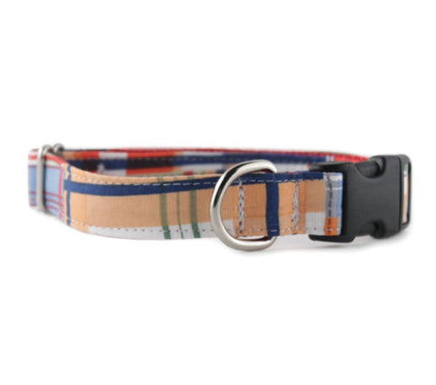 Sophisticated Pup - Mad About Plaid Dog Collar Large