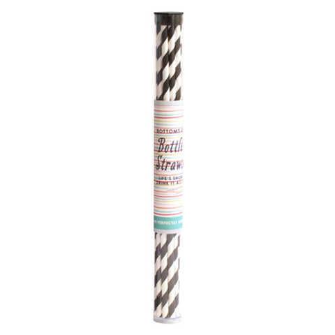 Curly Girl Design - Striped Wine Straw Pack