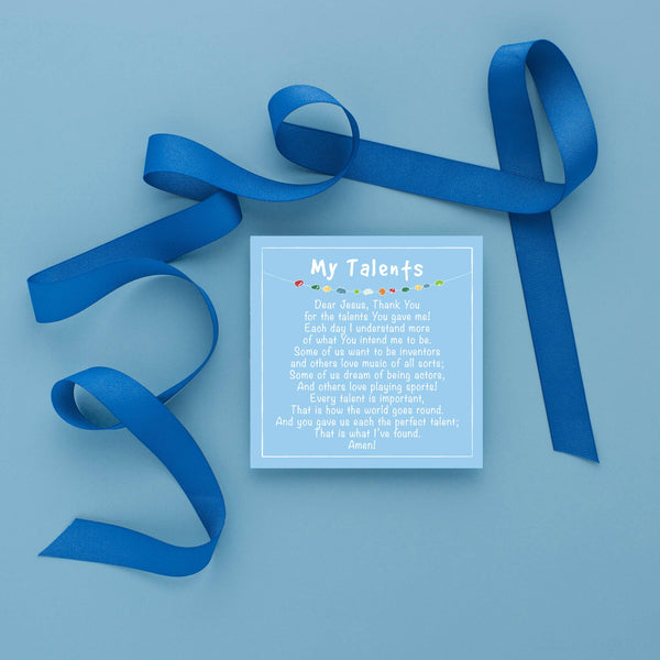 Cleerely Stated - Prayer Time for Little Boys w/ Acrylic Stand (20 Prayers)