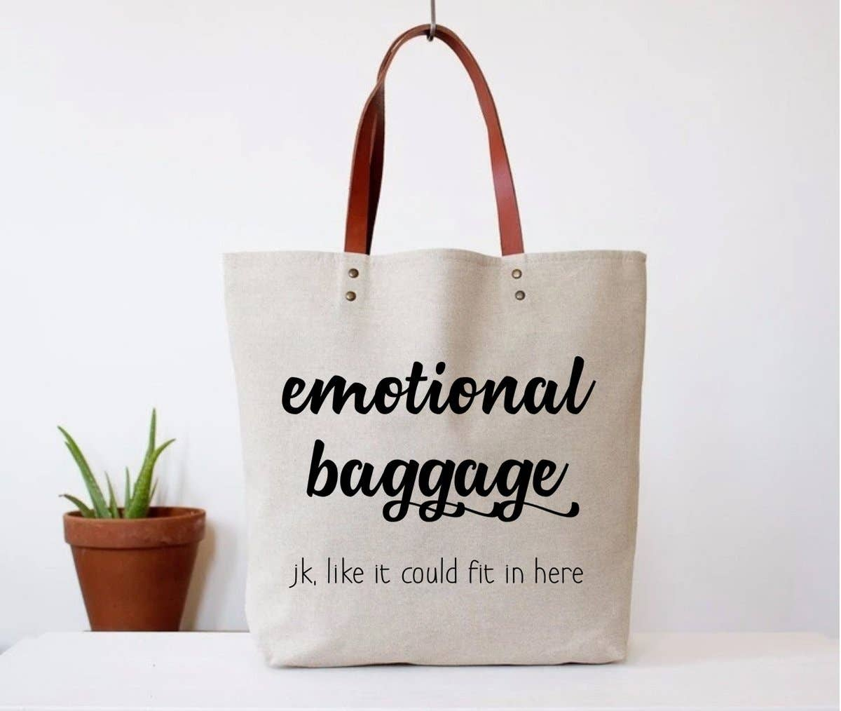 FUN CLUB - Emotional Baggage Tote Bag