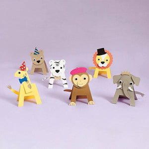 Paper Source Wholesale - Party Animals DIY Craft Kit