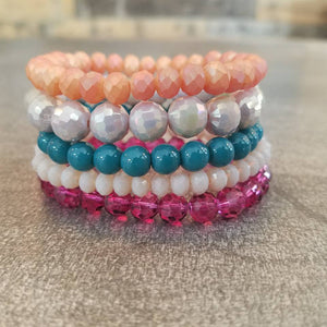Bracelet Stack in Brights