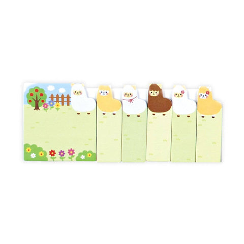 OOLY - Note Pals Sticky Note Pad - Alpaca Farm
