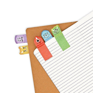 OOLY - Note Pals Sticky Note Tabs - Monster Pals