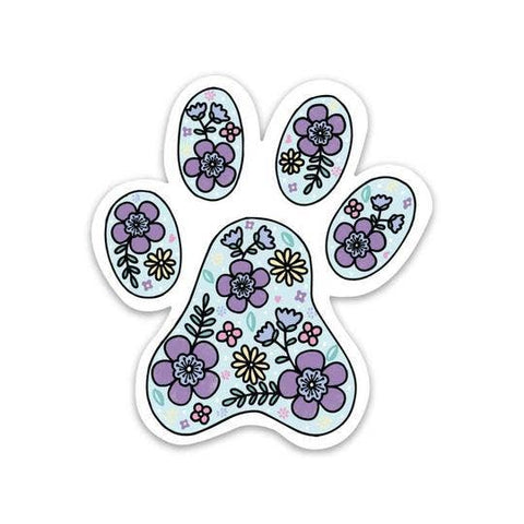Big Moods - Paw Print Sticker - Dog Sticker