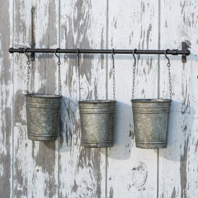 Hanging Planter with Buckets