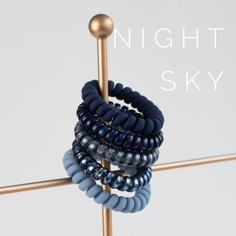 Large Night Sky Lauren Lane Hair Coils