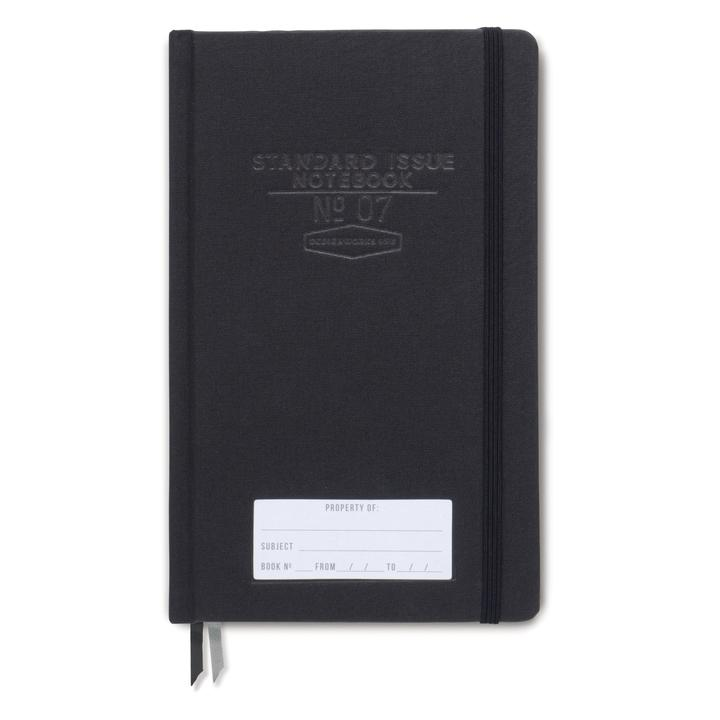Standard Issue Notebook in Black