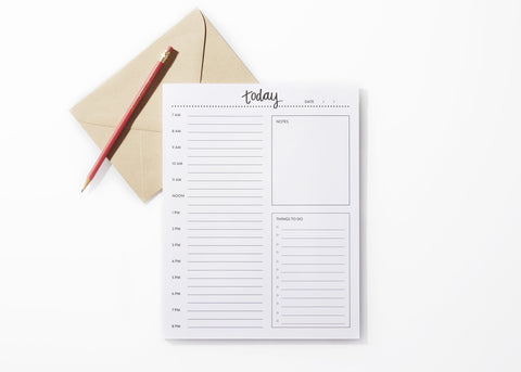 The Today Notepad Planner - Lemons and Limes Boutique