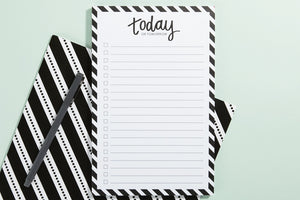 Today or Tomorrow Notepad - Lemons and Limes Boutique