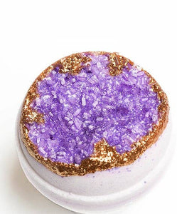Latika Body Essentials - AMETHYST - Geode Bath Bomb