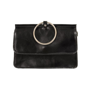 Aria Ring Bag in Black