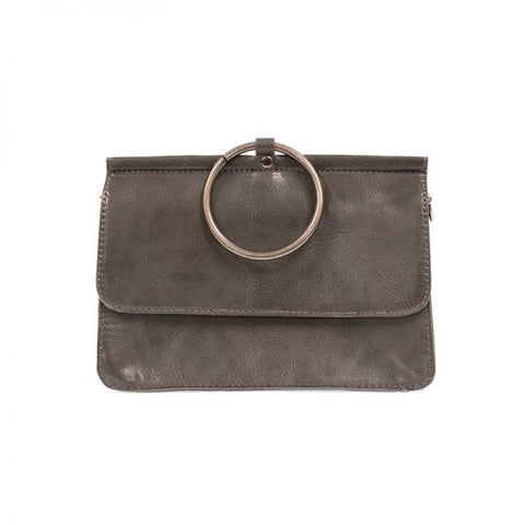 Aria Ring Bag in Charcoal