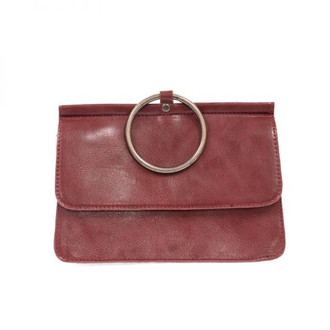 Aria Ring Bag in Garnet