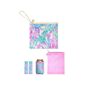 Lilly Pulitzer Beach Day Pouch in Best Fishes
