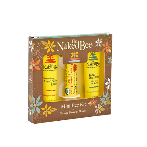 The Naked Bee - Mini Bee Kit in Orange Blossom Honey