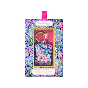Lilly Pulitzer Airpod Carrier in Bringing Mermaid Back