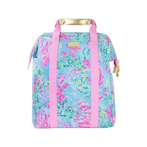 Lilly Pulitzer Backpack Cooler in Best Fishes