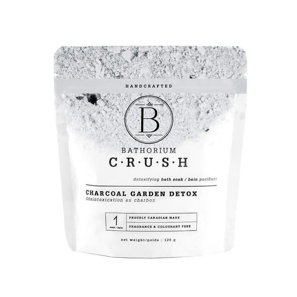 CRUSH Bath Soak in Charcoal Garden