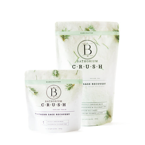 CRUSH Bath Soak in Northern Sage