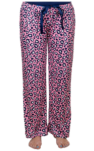 Simply Southern Pink Cheetah Sleep Pants