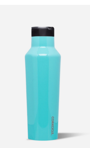 Corkcicle Sport Canteen in Gloss Turquoise