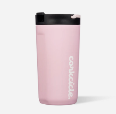 Corkcicle 12oz Kids Cup in Gloss Rose Quartz