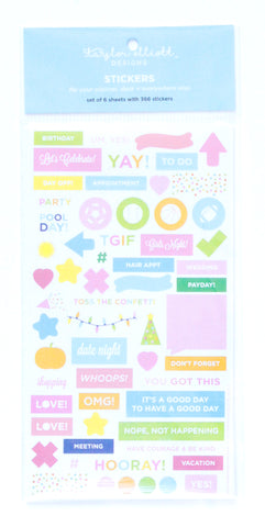 Taylor Elliott Designs - Planner Stickers