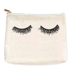 Sweet Water Decor - Eyelashes Makeup Bag