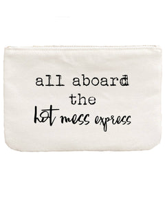 Gift Pouch & Bag | All Aboard Hot Mess Express