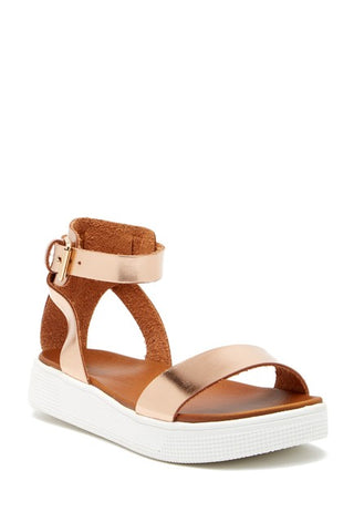 MIA Ellen White Sole Sandal in Rose Gold