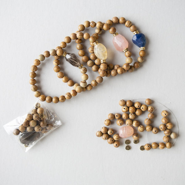 Jasper Gemstone DIY Bracelet Kit